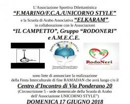 UNICORNO STYLE and the 2nd Intercultural Festival of the Association's Arabic School