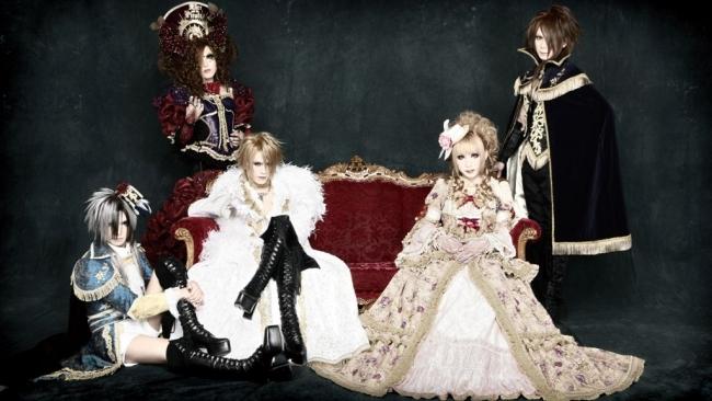 VERSAILLES PHILARMONIC QUINTET: Visual Kei Band Giapponese