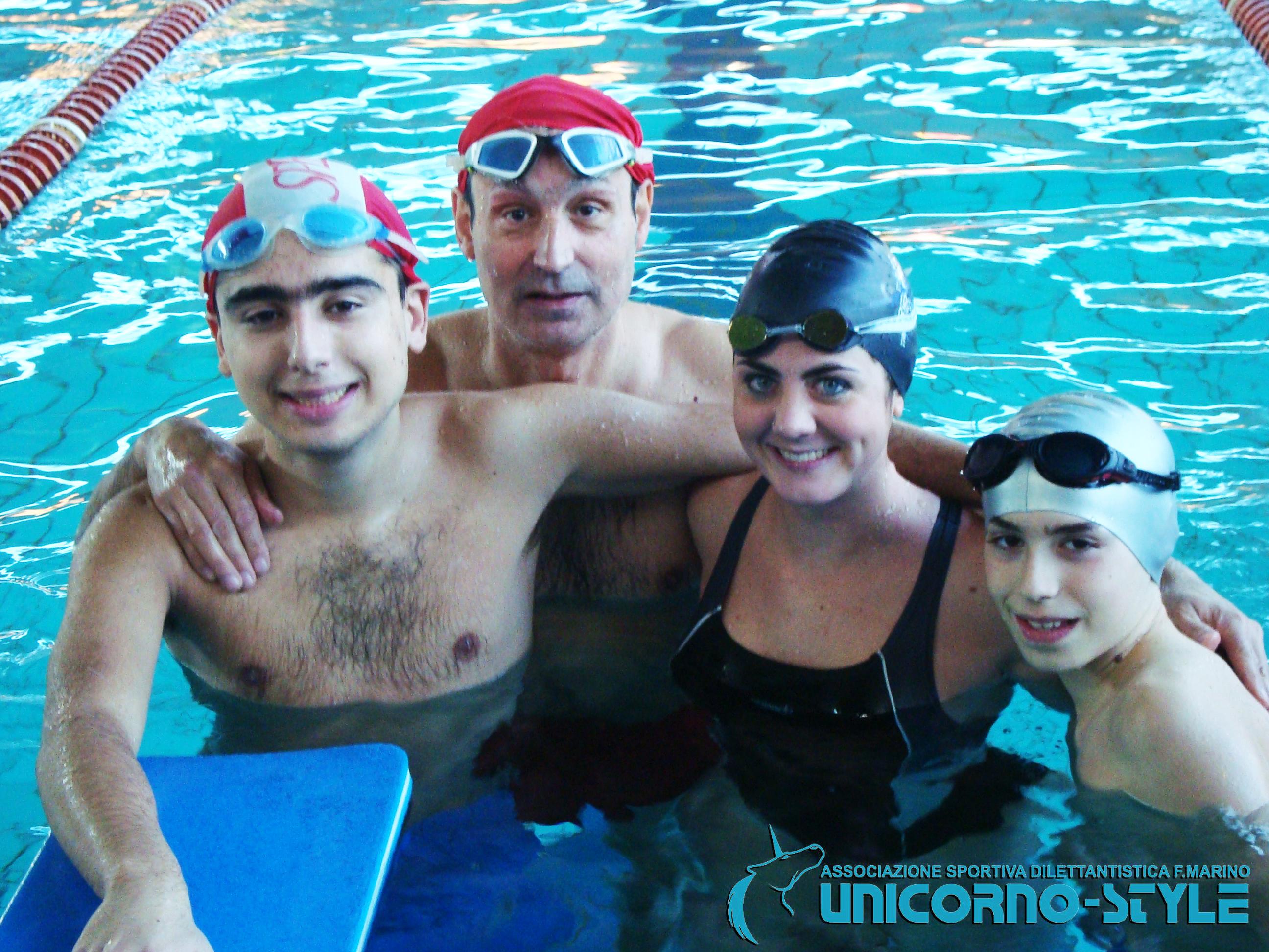 UNICORNO STYLE promuove l'attività estiva di Nuoto per Diversamente Abili presso la piscina Lido