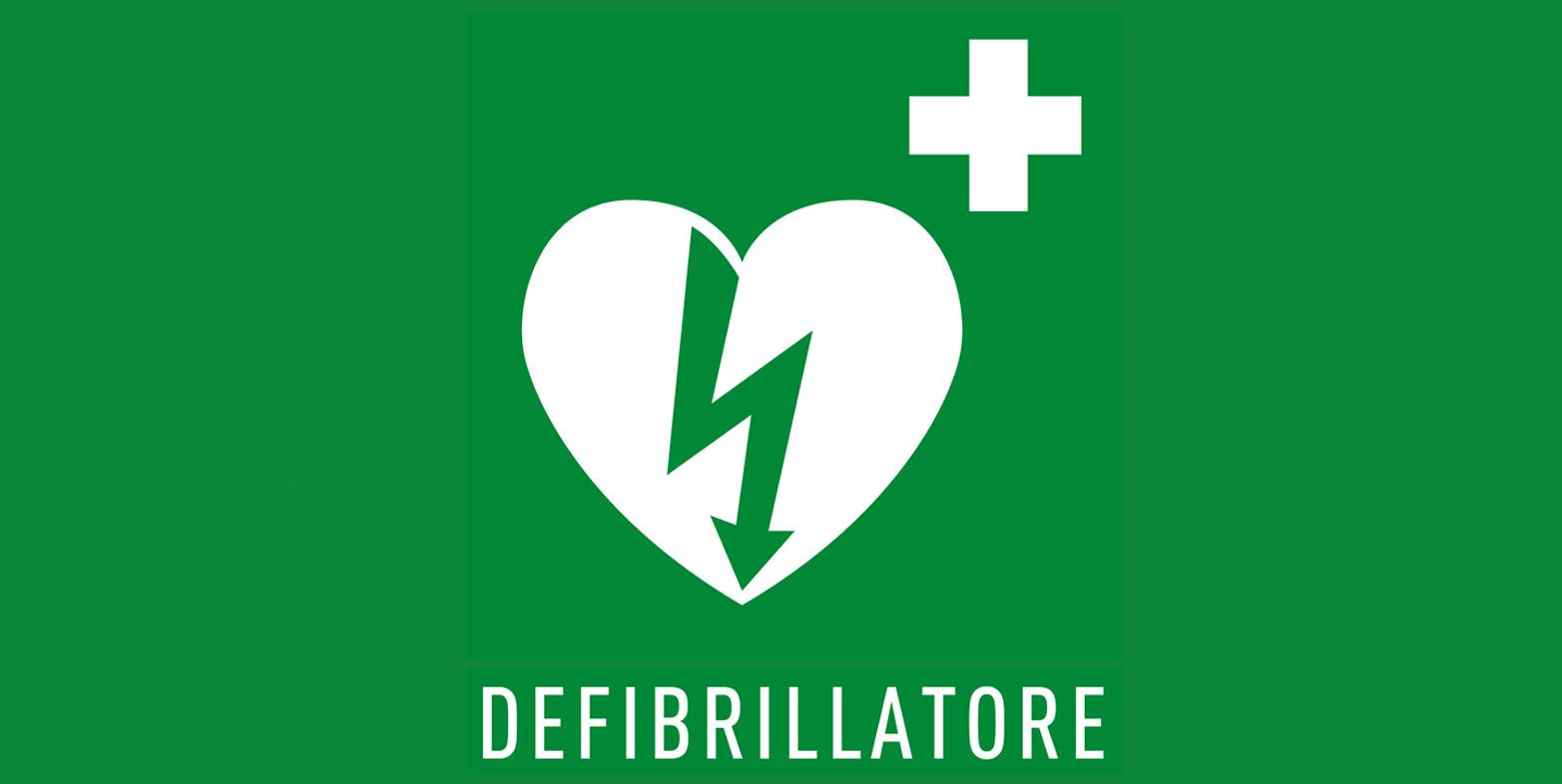 UNICORNO STYLE installa un Defibrillatore e partecipa al Corso BLSD presso il Centro d' Incontro MASCAGNI