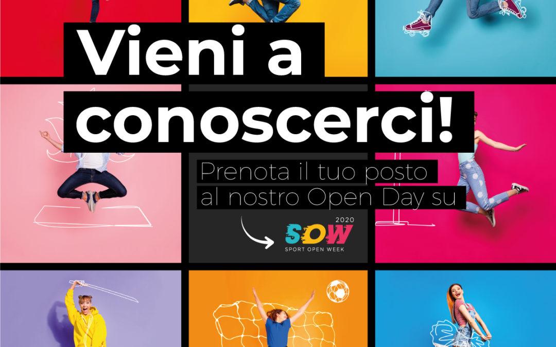 Unicorno Style partecipa alla Sport Open Week 2020